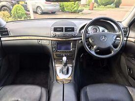 Mercedes E220 CDI AUTOMATIC 2.1 DIESEL SATNAV FULL LEATHER AVANTGARDE XENON FULL SERVICE HIST 2 KEYS