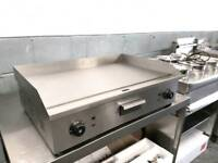 commercial electric griddle hotplate catering equipment