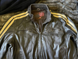 VINTAGE LEE COOPER MENS FAUX LEATHER JACKET SIZE XXL ONLY £20