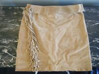 SUEDE SKIRT SIZE12