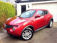 **1 PREV OWNER** 2011 NISSAN JUKE ACENTA SPORT DCI 1.5 RED TURBO DIESEL
