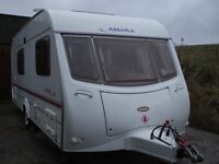 Coachman Amara 4 berth 2003/04 motor mover £5250