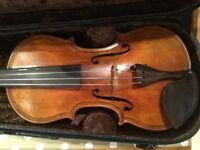 Nice old maggini violin and case