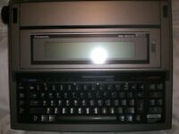 PANASONIC ELECTRIC WORD PROCESSOR WITH PRINTING FACILITY