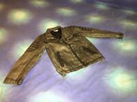 Faux Leather Boys Jacket (3-5 yo)