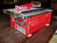 Electric Tile Cutter.