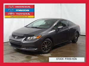 2012 Honda Civic LX+BLUETOOTH+REG.VITESSE