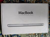 """Apple Macbook 13"""" LED Backlit Widescreen Notebook. BOX ONLY!!!"""