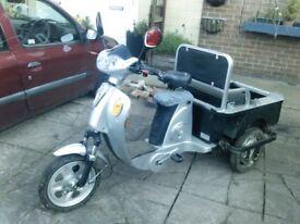 STOLEN 48v electric trike bike