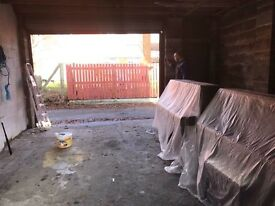 Big garage to rent can use as storage in good location close to cardiff bay and city centre