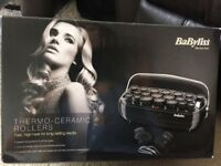 Barely used Babyliss Thermo Ceramic Rollers