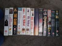13 VHS Videos