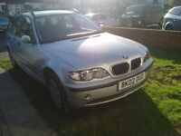 BMW 318 ESTATE BREAKING FOR SPARES, 2002 , MOST PARTS AVALIABLE
