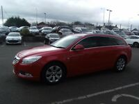 2012 62 VAUXHALL INSIGNIA 2.0 SRI NAV VX-LINE RED CDTI 5D 157 BHP **** GUARANTEED FINANCE ****