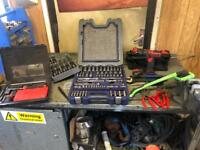 Job lot of snap on tools