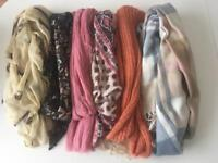 X6 scarves