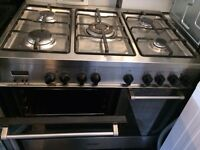 Stainless Steel 90cm Range Full Gas Cooker GREAT Condition!!!!