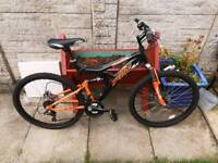 Trax full suspension mountain bike