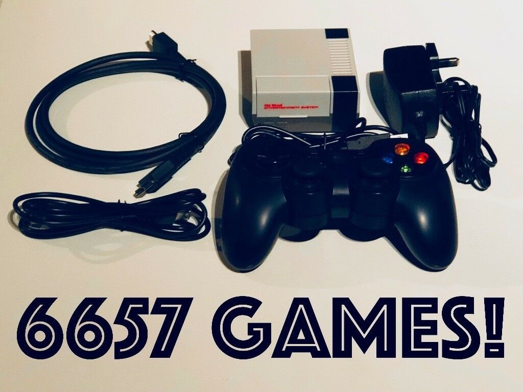 6657 GAMES!! Retropie Game Console (128GB) | in Hereford