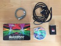 Pangolin Quickshow Laser Show - Flashback Lighting Control Software