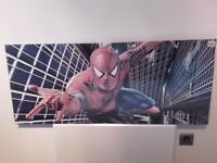 Spiderman Canvas Print 120 cm x 50 cm – Ready to hang