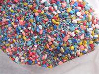 multi coloured gravel