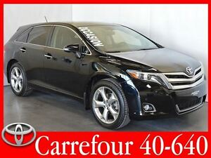 2015 Toyota Venza V6 AWD Limited JBL+GPS+Cuir+Toit Ouvrant+Camer