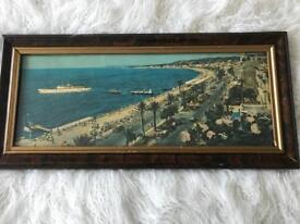 """Vintage 1920s Picture Of French Riviera """" Nice"""""""