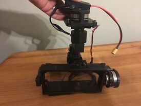 Zenmuse bmpcc gimbal with external battery cable