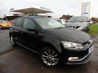 VW Polo SE DESIGN TSI (black) 2015