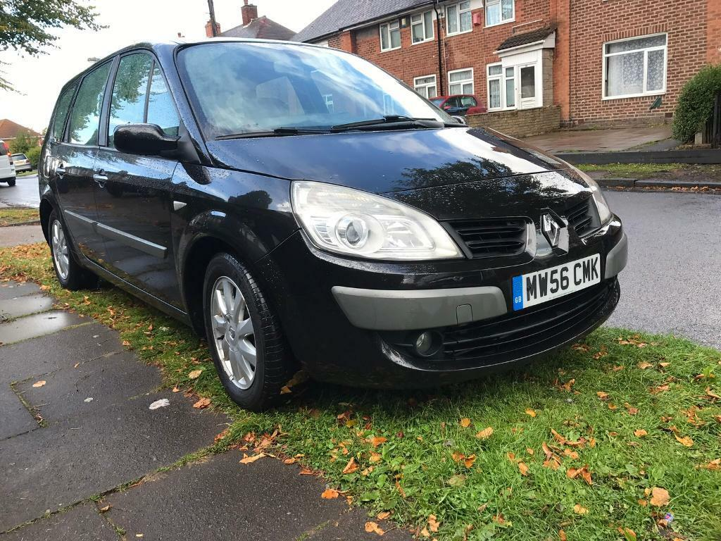 Renault grande scenic 1.9 dci - 2007 - diesel - 7 seater -not Zafira galaxy Alhambra sharan vauxhall