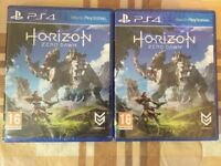 HORIZON ZERO DAWN GAME BRAND NEW AND SEALED - PS4