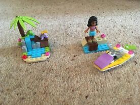 Lego friends island/ sea set.