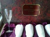 Royal Doulton Crystal Wine Glasses