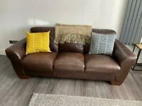 3 Seater SCS Messina Leather Sofa