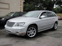 2007 Chrysler Pacifica LIMITED LEATHER/SUNROOF/TV-DVD/AWD