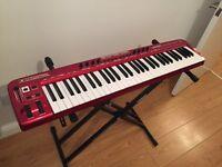Behringer UMX610 U-Control 61 Key USB/MIDI Controller Keyboard with Stand!