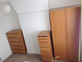 Bedroom furniture Set (ikea malm)
