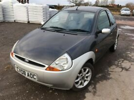 FORD KA 'CLIMATE' YEAR - 2008, 56,000 MILES!, NEW M.O.T!!!