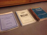 Wide collection of clarinet sheet music (job lot)
