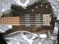 Warwick Rockbass Corvette 5 String with EMG Pickups and BTS Preamp