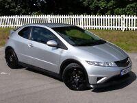 2007(07) Honda Civic 2.2 i CTDi Type S | 3 DOOR | DIESEL | F.S.H | LONG MOT | IMMACULATE,