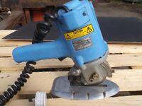 Suprena industrial round cloth cutting machine 100mm 4inch diameter cutter