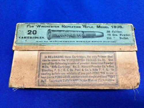 Winchester 38-70 Model 1886 Two Piece Black Powder Cartridge Box