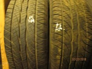195/65R15  2 ONLY USED DUNLOP A/S TIRES