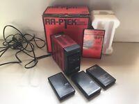 JVC 'Retro' VIDEO MOVIE CAMERA VHSc + loads of accessories