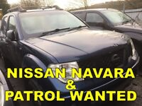 Nissan navara & patrol wanted!!!