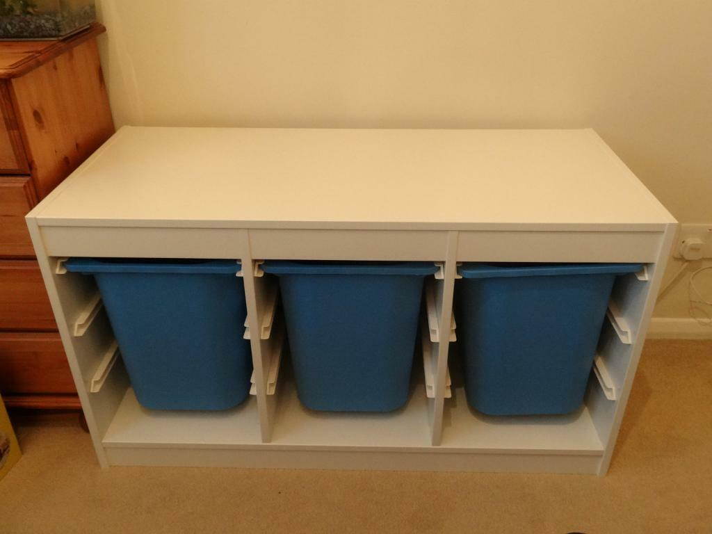 Ikea Storage Unit With Plastic Buy Sale And Trade Ads