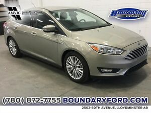 2015 Ford Focus Titanium W/ LEATHER, TOUCH SCREEN, REMOTE START