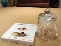 Sweets Jar and Cake Stand